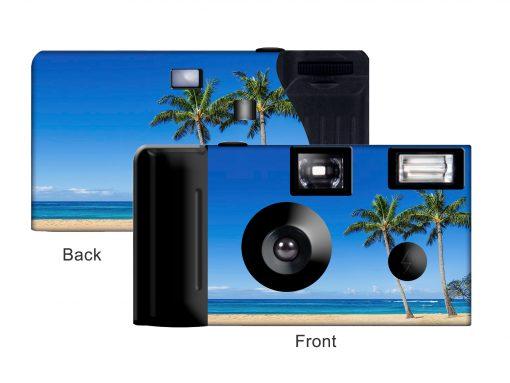 Tropical Paradise Custom Disposable Camera