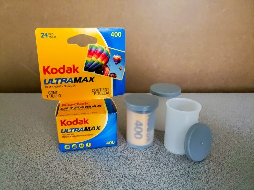 Film Canisters with caps