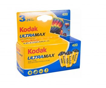 Kodak ULTRAMAX 400 speed, 24 exposure color film 3-pack — FREE GROUND SHIPPING* — as low as $4.03 each roll in quantity