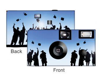 Blue Sky Graduation Custom Disposable Camera
