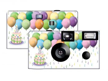 Birthday Wish Custom Disposable Camera