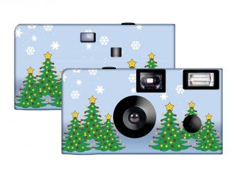 Christmas Trees Custom Disposable Camera