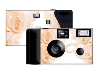 Delicate Splendor Custom Disposable Camera