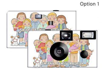 Family Gathering Custom Disposable Camera