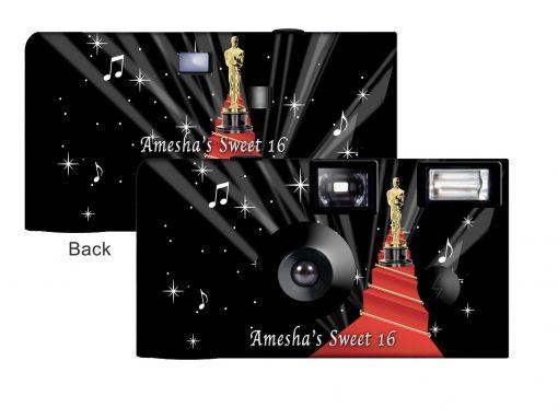 Hollywood Oscars Disposable Camera