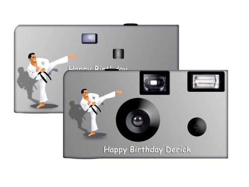 Karate Custom Disposable Camera