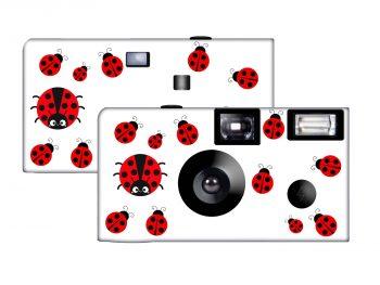 Ladybugs Custom Disposable Camera