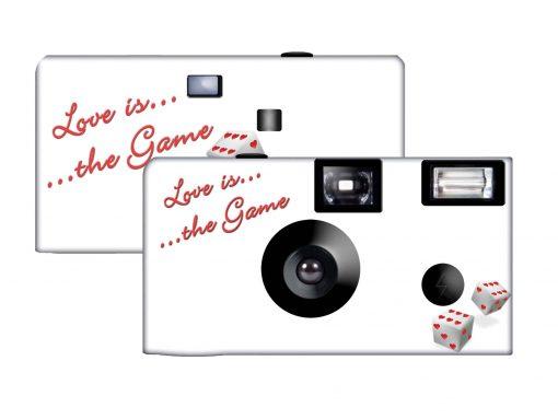 Love Game Custom Disposable Camera