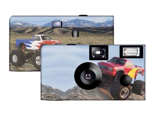 Monster Truck Custom Disposable Camera
