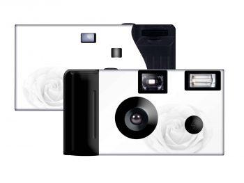 Sheer Rose Custom Disposable Camera