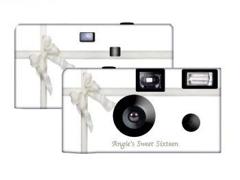 Silver Lace Custom Disposable Camera