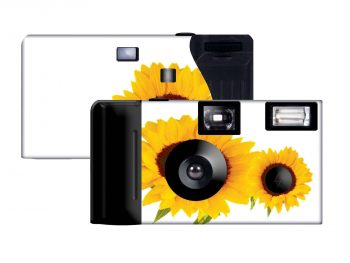 Sunflower Custom Disposable Camera