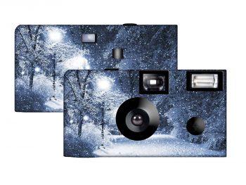 Winter Wonderland Custom Disposable Camera